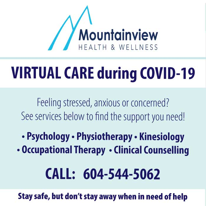 Virtual Care at Mountainview Health and Wellness during COVID-19